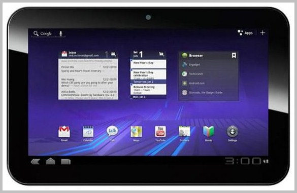 H Pioneer Computers παρουσιάζει το νέο Honeycomb tablet των 10 ιντσών